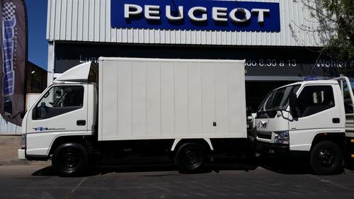 jmc nhr rueda simple box furgon, 0km,financiación especial!!