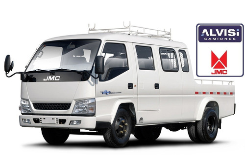 jmc workshop cabina triple 0km alvisi a b s precio + iva