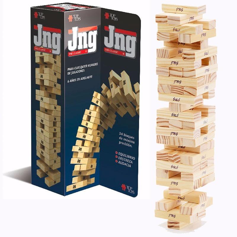 Jng Jenga Juegos Mesa Top Toys Juego Infantil Didactico 54 P 749