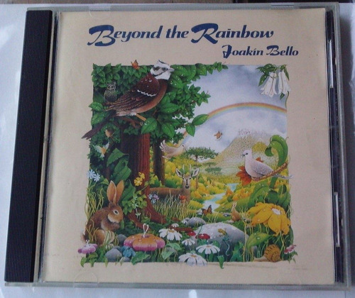 joakin bello beyond the rainbow cd 1a ed 1988 made in u.s.a.
