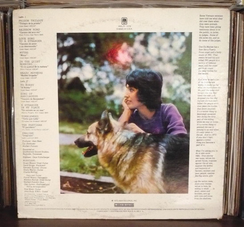 joan baez lp come from the shadows