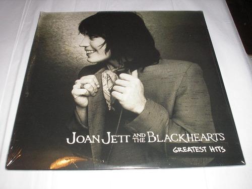 joan jett greatest hits lp doble usa vinilo nuevo sellado