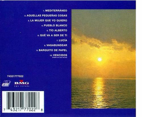 joan manuel serrat mediterráneo cd nuevo original sellado