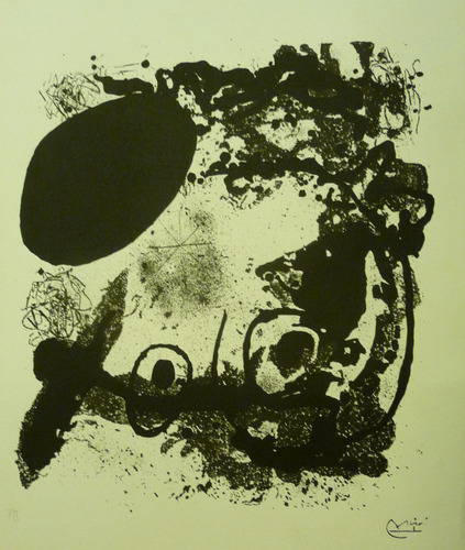 joan miro very rare lithography