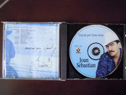 joan sebastian cd gracias por tanto amor