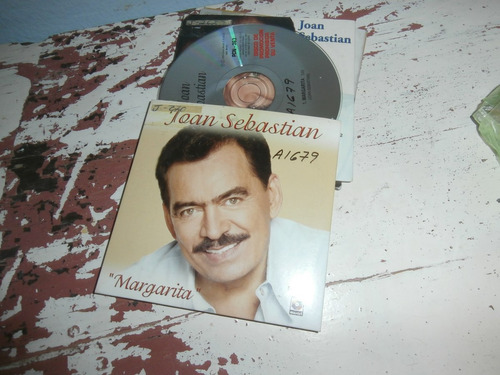 joan sebastian   disco cd promocional margarita