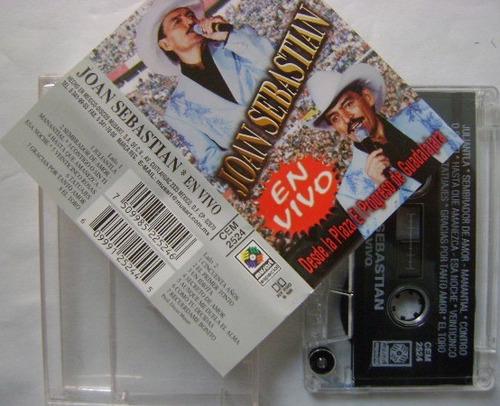 joan sebastian / en vivo 1 cassette