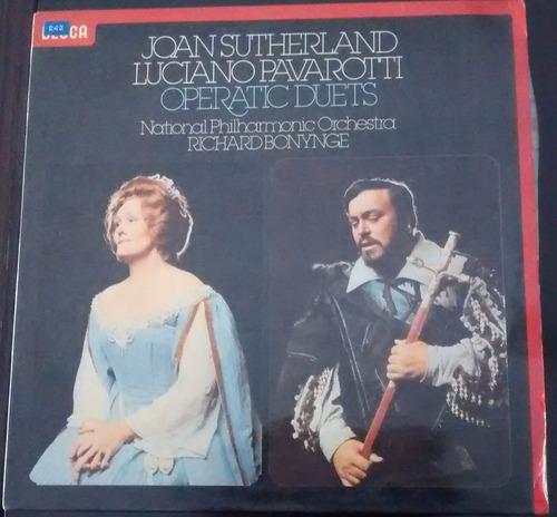joan shuterland -luciano pavarotti-operatic duets