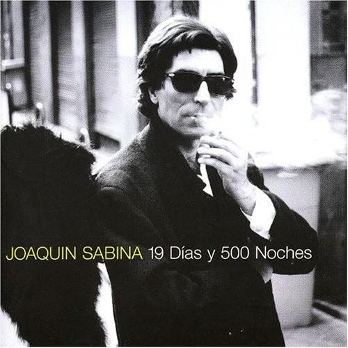 joaquin sabina - 19 dias 500 noches cd nacional 1a edición