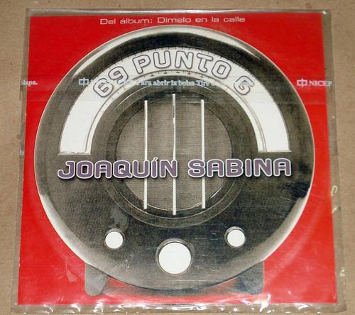 joaquin sabina 69 punto g cd single argentino promo