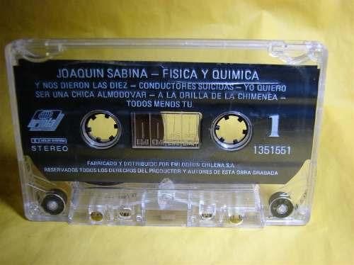 joaquin sabina fisica y quimica cassette 1992
