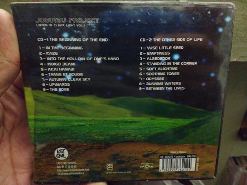 jobutsu project listen in clear light vol. 1 cd nuevo import