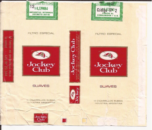 jockey club suaves 10 - 1989