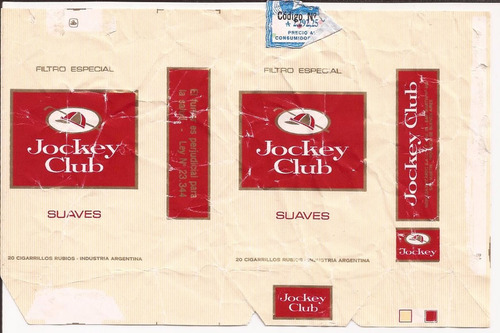jockey club suaves 20 filtro especial - 1988