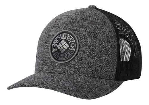 jockey columbia mesh snap back hat gris columbia