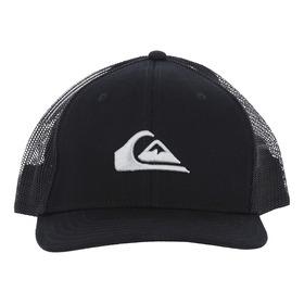 Jockey Quiksilver Hombre Grounder Trucker Hat Black