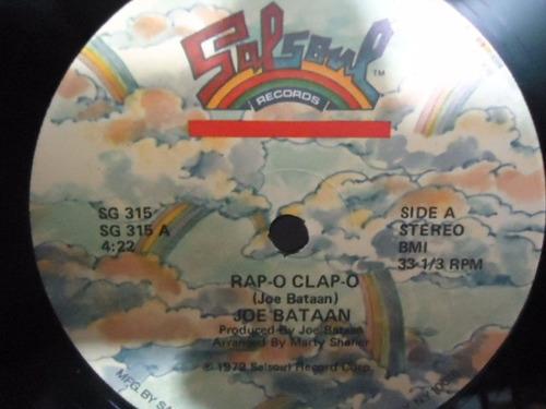 joe bataan / rap o clap o vinyl lp acetato