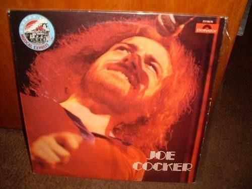 joe cocker - vinilo nacional sello polydor en belgrano