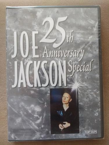 joe jackson - 25th anniversary special - dvd lacrado