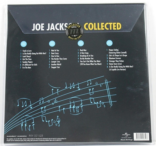 joe jackson collected vinilo nuevo y sellado musicovinyl
