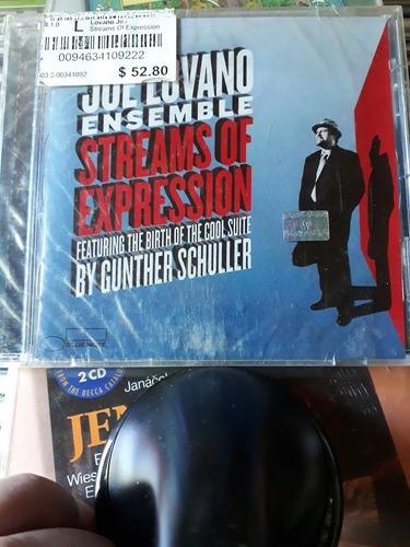 joe lovano streams of expression bn original cerrado