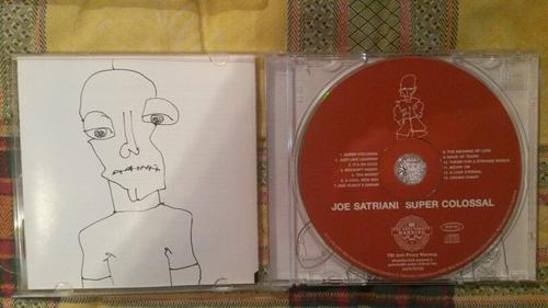 joe satriani cds importados