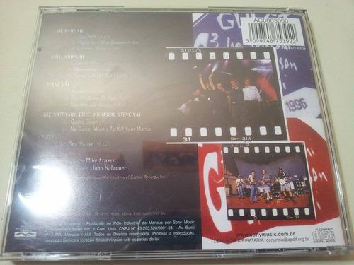 joe satriani/ eric johnson/ steve vai/ g3 live in concert 97