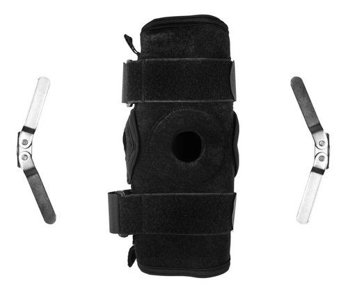 joelheira neoprene articulada c/ dobradiças metálicas mercur