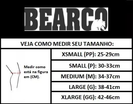 joelheira para crossfit bearco (par) 7 mm