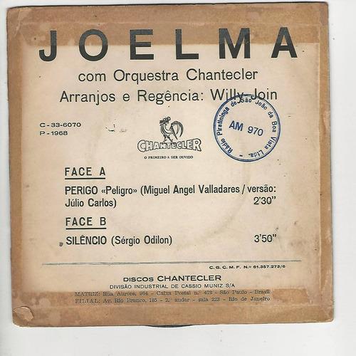 joelma 1968 perigo chantecler - compacto - ep f6