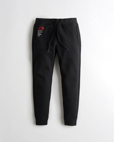 jogger hollister ajustado para hombre original pants