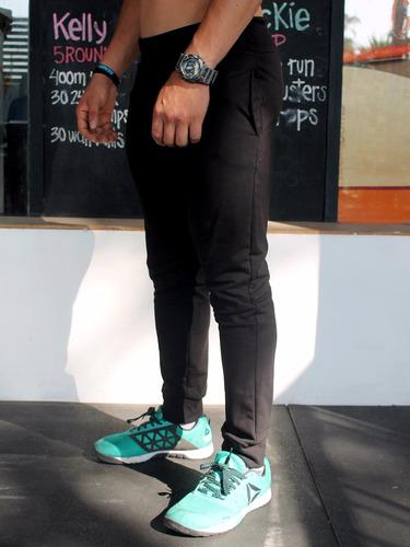 jogger pantalon deportivo slim fit algodon buzo