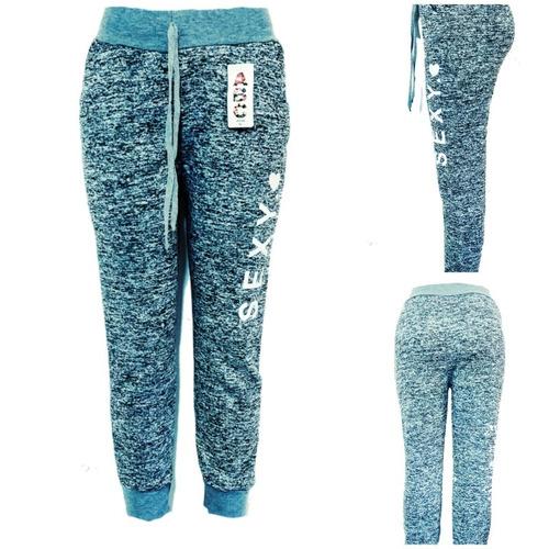 b056f268a3 Jogger Pants Para Dama Moda Juvenil Slogan Gris Jaspe -   250.00 en ...