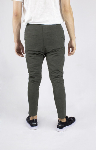 jogger synergy impermeable verde oscuro h406