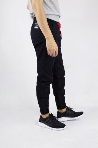 jogger synergy twill negro h407e