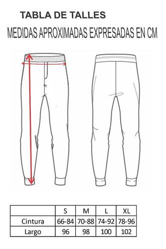 joggers hombre babucha gym fit termica-hombre art 1120