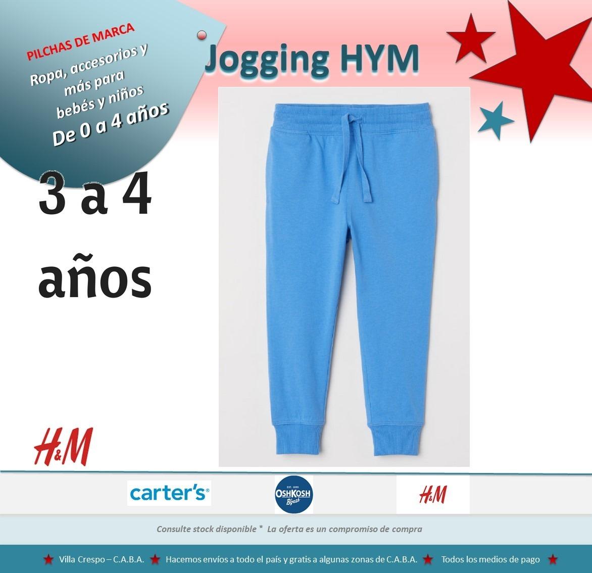 jogging liviano hym niño 2 a 6 años pilchasdemarca. Cargando zoom. 156b4c08f610