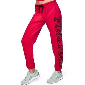 site web pour réduction sélectionner pour plus récent meilleure sélection de Pantalón Pink Victorias Secret - Rojo Con Negro 00862