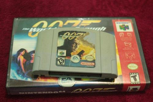 jogo 007 americano original para nintendo 64 - n64 usa