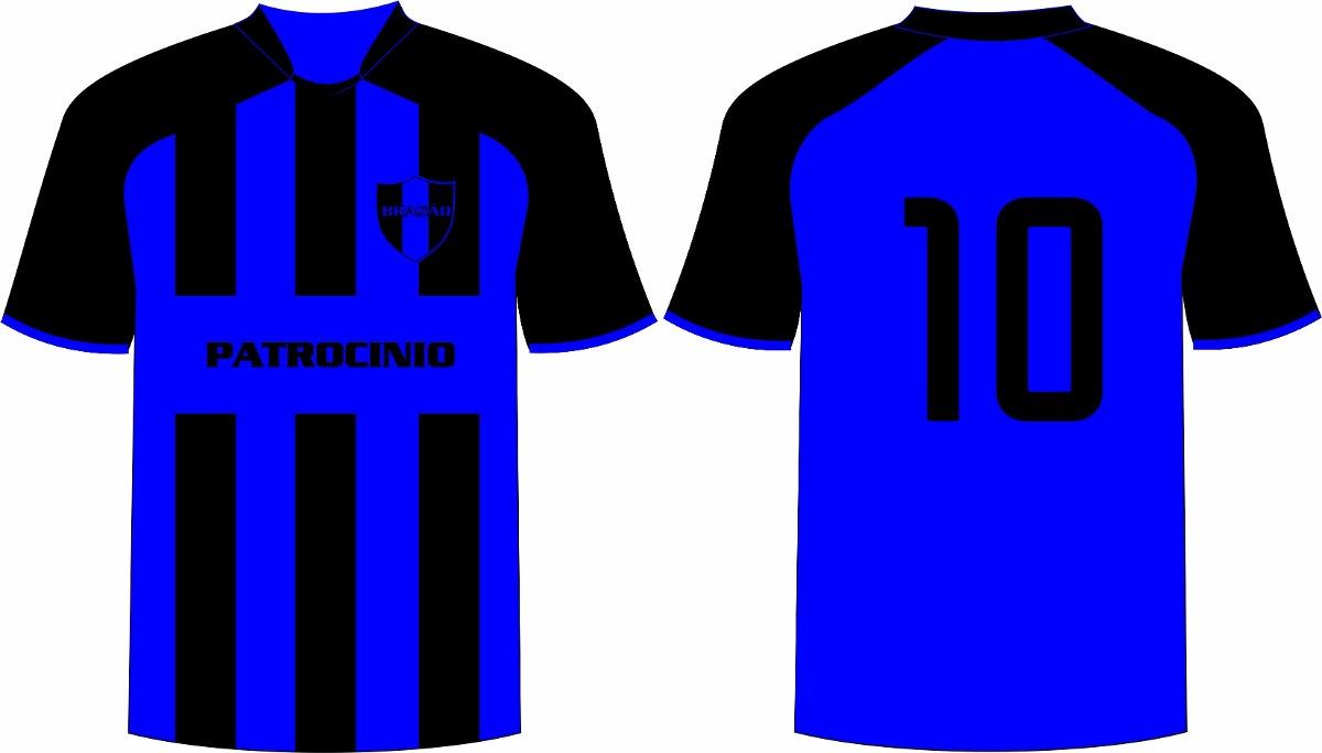 Desenho De Camisa: Jogo 10 Camisas Personalizado Futebol Dry Sport Frete