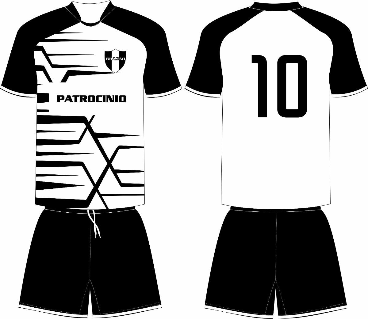 a1743030af6cc Jogo 16 Camisas 16 Calções Personalizado Futebol Dry Sport - R  640 ...