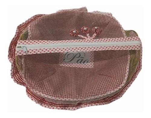 jogo 2 cestas artesanais + 1 puxa saco