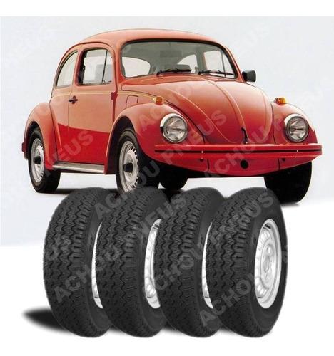 jogo 4 pneus 5.60-15 para fusca novo marca maggion