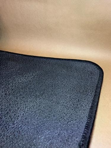 jogo 4 tapetes carpete base borracha fiat 500 2008+