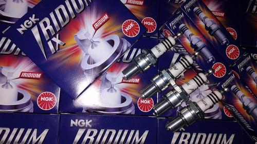 jogo 4 velas ignição iridium ngk bpr6eix celta corsa vectra