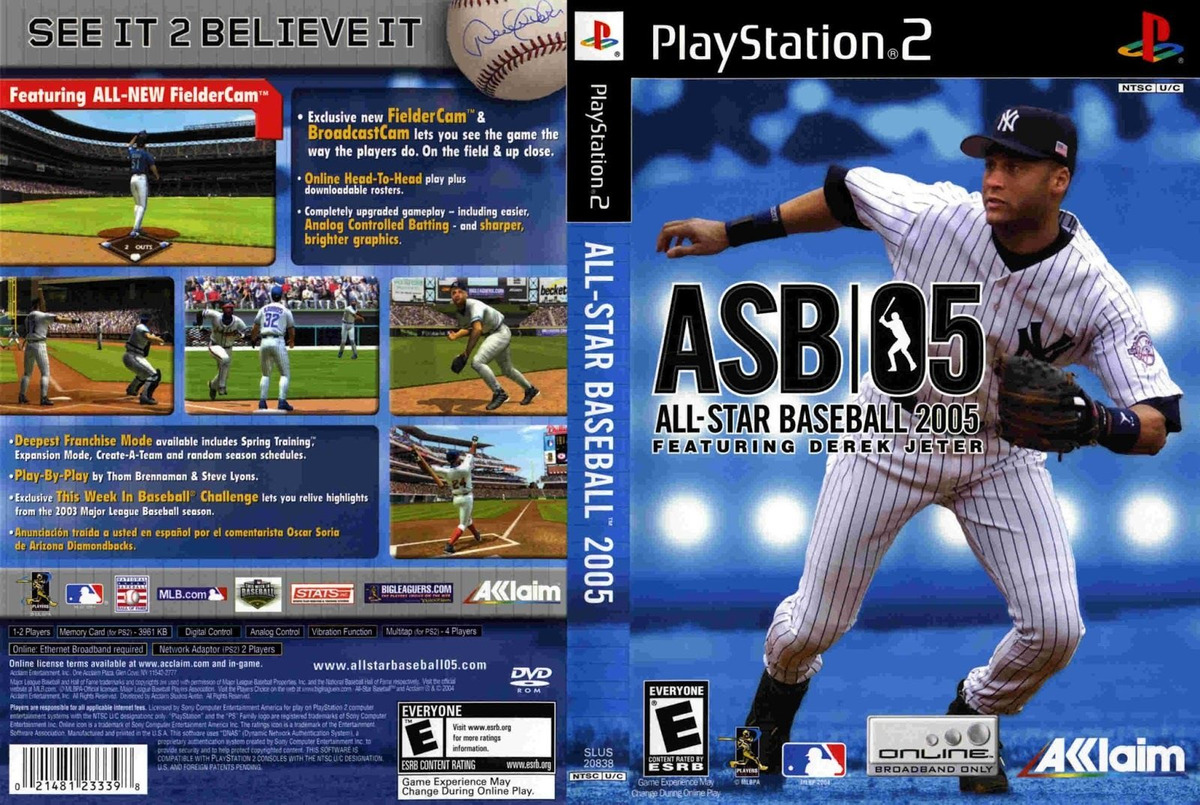 All-Star Baseball 2005-cover game.