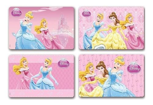 jogo americano infantil princesas 4 peças gedex