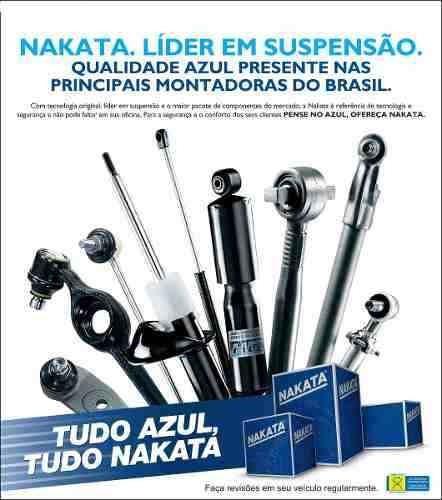 jogo amortecedor traseiro nakata fiesta 2000 2001 2002 + kit