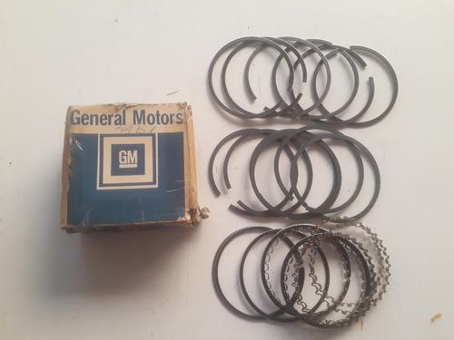 jogo anéis pistão opala 6cc motor 230 250s original gm-0,30