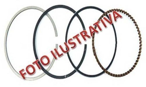 jogo anel segmento cbx/nx150 0,50 mm